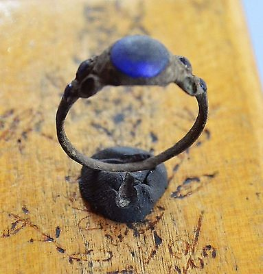 Medievil Viking Period ring with gemstones