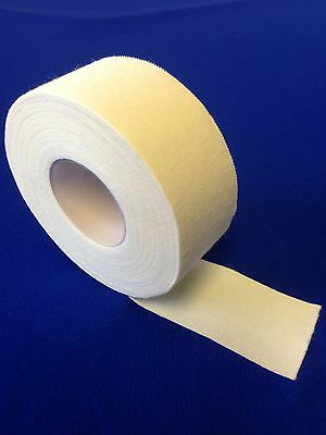 Yuzet 10m White Zinc Oxide tape rolls sports strapping football athletics