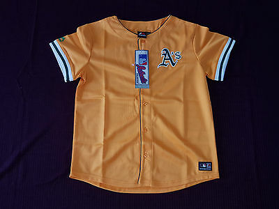 Oakland Athletics Trikot Majestic Größe 158/166 -NEU- MLB Shirt