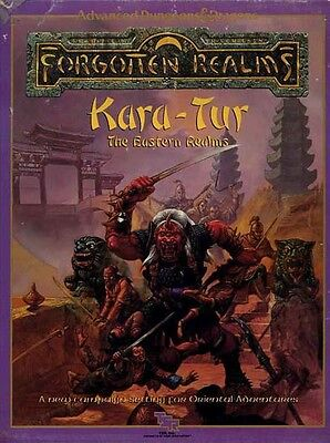 KARA-TUR THE EASTERN REALMS VF! Forgotten Realms D&D Dungeons Dragons Boxed Set