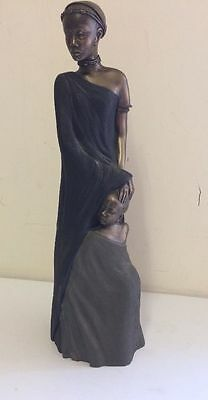 Soul Journeys Collection Maasai Mashavu 'A Sister's Care' Figurine 2001