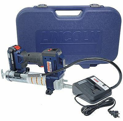 Lincoln 1882 20 Volt Cordless Grease Gun Kit with 1 Lithium-Ion Battery