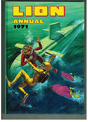 LION ANNUAL 1971 from Lion Comic