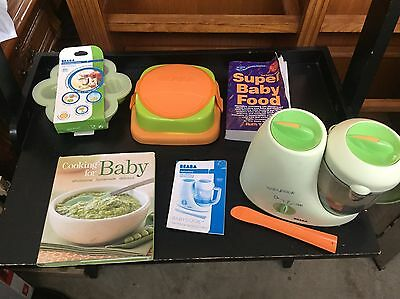 Beaba Babycook Classic Baby Food Maker and accessories!
