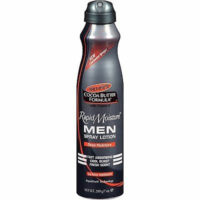 Palmers Cocoa Butter Formula Rapid Moisture Men Spray Lotion 200g
