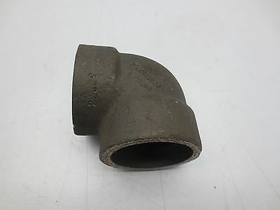 "MI300 Forged Steel 2"" Elbow 90 degree Pipe Fitting Female Weldable"