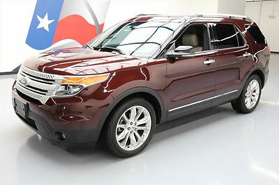 2012 Ford Explorer  2012 FORD EXPLORER XLT 7-PASS HTD LEATHER NAV 20'S 58K #A36004 Texas Direct Auto