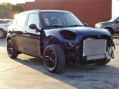 2016 Mini Countryman S 2016 MINI Cooper Countryman S Damaged Salvage Only 696 Miles Must See Wont Last