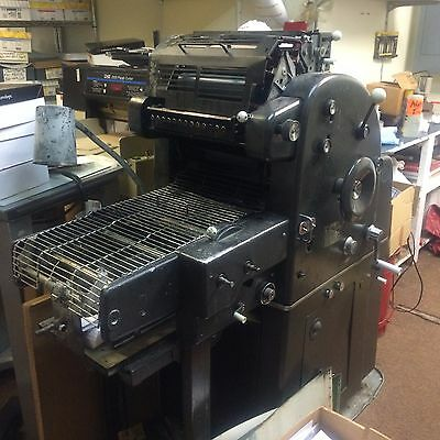 AB dick 360 - One color press machine - Good working condition