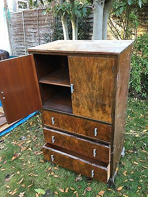 Vintage Furniture Draws And Cabinet