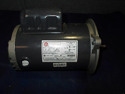 US Motors 1/2 HP 230V 1725RPM 1PH 3.1A Motor W/ Chore Time Gear Reducer 5:1 Rat