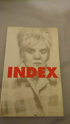 PETER SOTOS Index (Creation Books) 2000 edition Whitehouse Trevor Brown noise