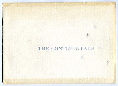 1955 The Continental Mark II Debut Booklet Letter & Invitation History Edsel For