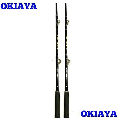 "Okiaya Composit 80-130Lb ""tuna Tango""(2 Pack)Saltwater Big Game Roller Rod"