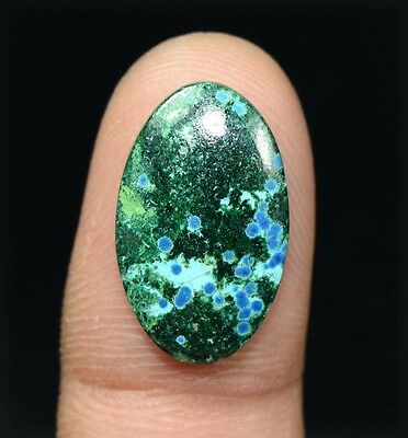 10.00 Cts. 100 % Natural  Chrysocolla Oval Cabochon Untreated Loose Gemstones