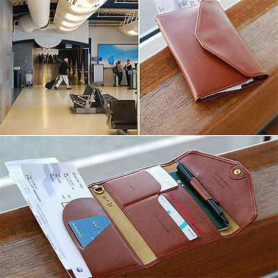 Travel Wallet - Passport Cover Boarding Pass Holder Organizer - Tripping Wallet