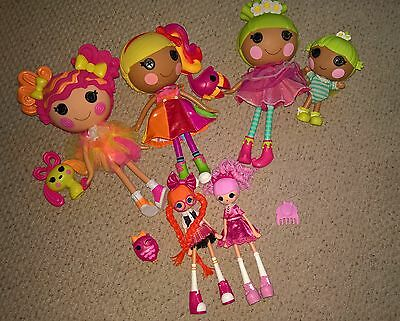 Lalaloopsy Dolls with pets