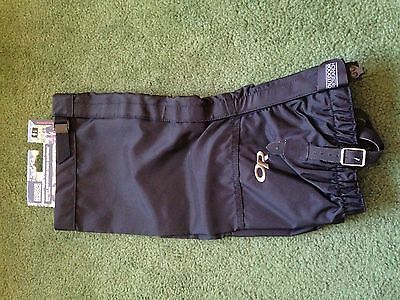 Mens Outdoor Research Rocky Mountain High Black Gaiters New