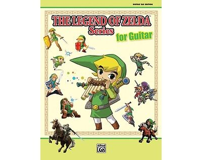The Legend of Zelda Series for Guitar Book