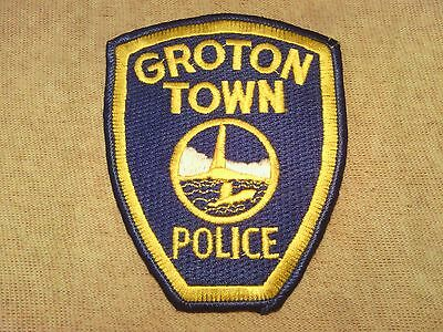 CT Town of Groton Connecticut Police Patch 3