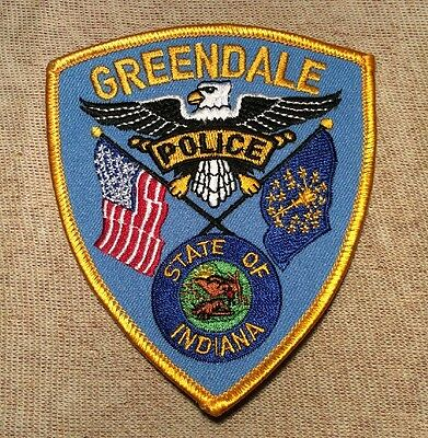 IN Greendale Indiana Police Patch