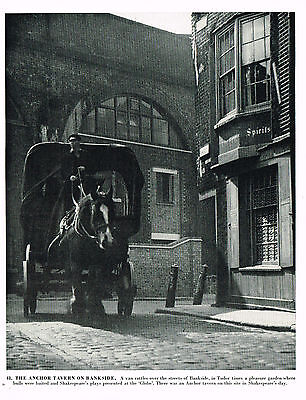 The Anchor Tavern On Bankside - Vintage 1950s  Photographic Print #483088 London