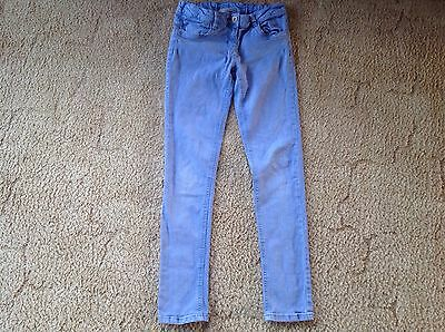 Next Girls Blue Trousers. Age 12 years