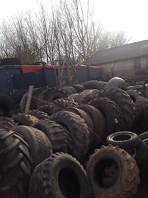 tractor tyres jcb plant earthmover forklift dumper tyre 15.5/80×24  38 fitted