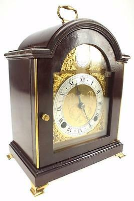 Amazing London Antique Elliott Musical Mahogany Bracket Clock Dual Chime Feature