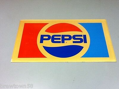 Pepsi cola plastic wall sign soda machine top soft drink advertising front