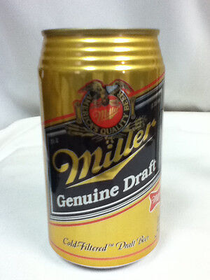 Miller Genuine Draft beer can bank 12 ounce cans 1 collector series GK6