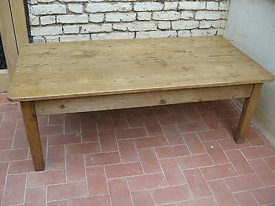 Antique Stripped Pine CoffeeTable