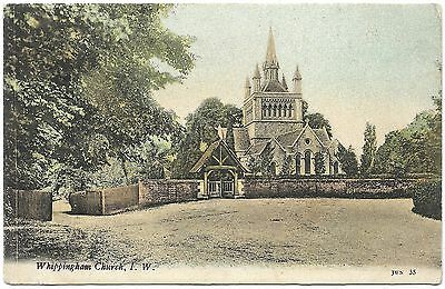 Whippingham Church Isle of Wight early colour - Welch - postmark 1904