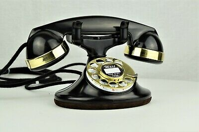 Western Electric 202 Telephone -  Fully Restored - Brass Trim - Best On Market!