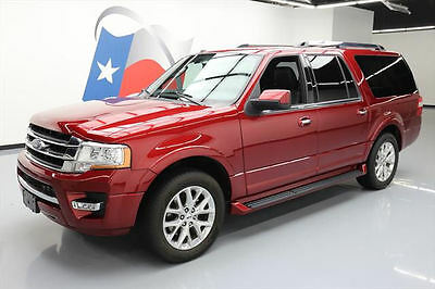 2016 Ford Expedition  2016 FORD EXPEDITION LTD EL ECOBOOST LEATHER 20'S 43K #F12146 Texas Direct Auto