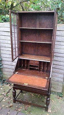 Bureau writing desk with Bookcase