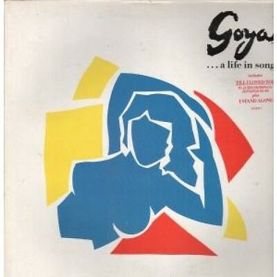 GOYA...A LIFE IN SONG S/T LP VINYL 15 Track In Promo Stickered Gatefold With