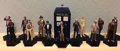Doctor Who figurine collection Eaglemoss complete with ALL premium rare daleks