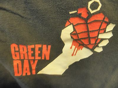 Green Day 2005 American Idiot Tour T-Shirt Size: XL