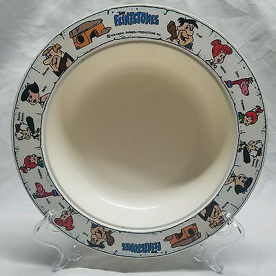 1978 Deka Hanna Barbera The Flintstones Childrens Dinner Snack Cereal Bowl