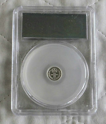 2004 Maundy Silver Proof One Pence Slabbed Cgs 99