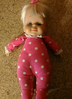 Mattel Drowsy Baby The Classic Collection Baby Drowsy Talking New body old head?