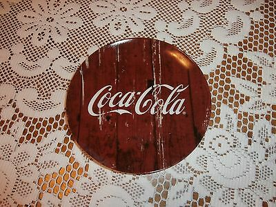 New With Tag  Gibson Coca -Cola Collectors Plate