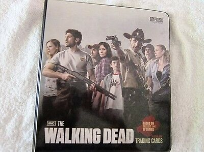 Rare Waliking Dead Season 1 Trading Cards + Signature, Wardrobe cards & Binder