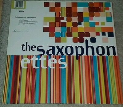 "Saxophonettes - Secret Squirrel vinyl 12"" ambient Orb remix black friday 50% off"