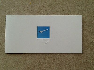British Airways Concorde Promotional Brochure Brand New Mint Condition