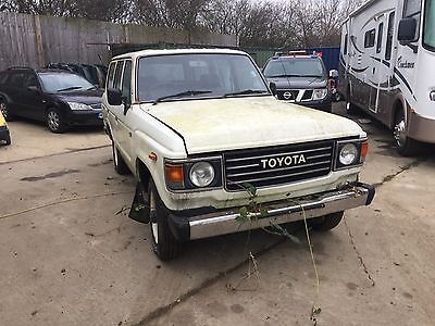 Toyota Landcruiser 1985 HJ Model Auto BARN FIND project