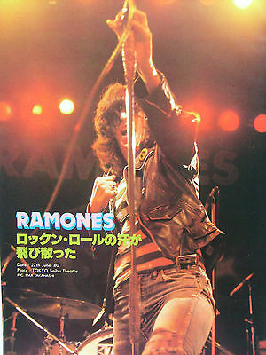 Ramones - Clippings From Japanese Magazines