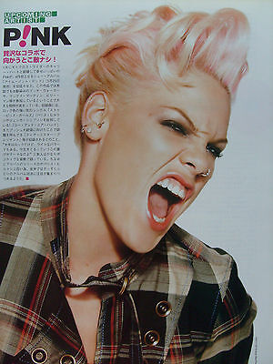 Pink / P!nk - Clippings From Japanese Magazines