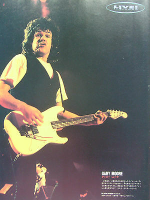 Gary Moore - Clippings From Japanese Magazines